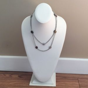 Metal Coin Necklace